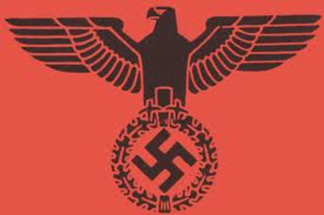 """Nazi government declared """"racial laws,"""" making Jews non-citizens and forbidding marriage between Jews and non-Jews.   These laws are commonly known as the NUREMBERG LAWS."""