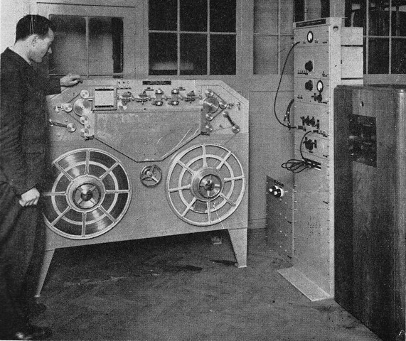 Start of Magnetic Tape Recording