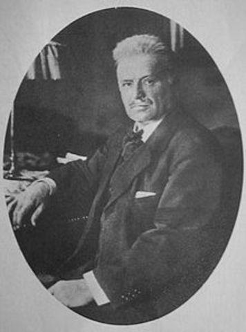 Valdemar Poulsen's telegraphone patented