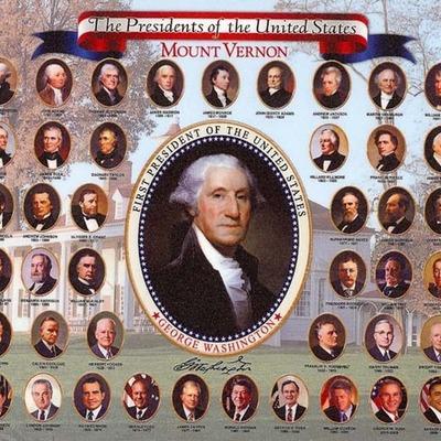 U.S. Presidents timeline