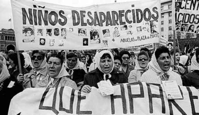 missing people under Juan Peron in Argentina