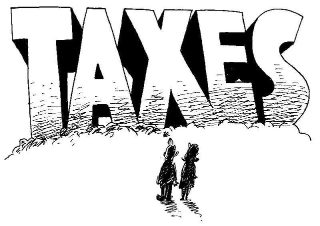 First income tax in U.S. history levied on North