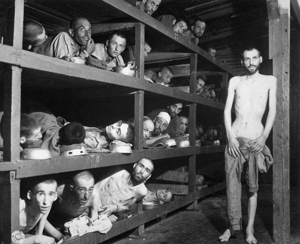 Wiesel imprisioned in Buna (Auschwitz III-Monowitz)