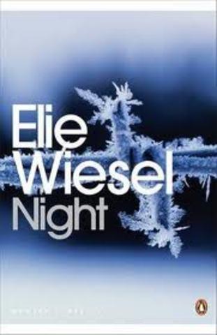 Elie published his first book, La Nuit.