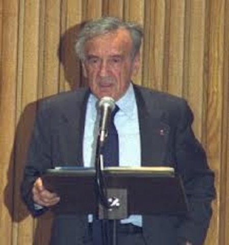 Weisel was awarded Nobel Peace Prize.