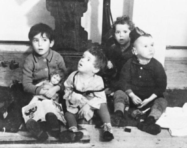 Jewish children no longer allowed to go to public schools.