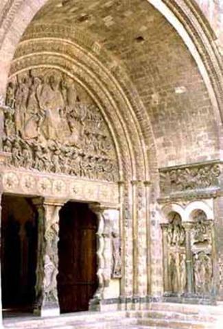 •Arte románico (s. XI - XIII)