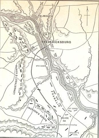 Union disaster at Fredericksburg