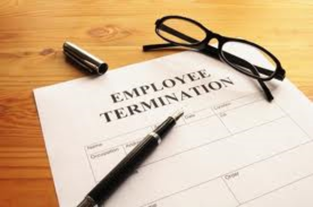 Discharged employee Law