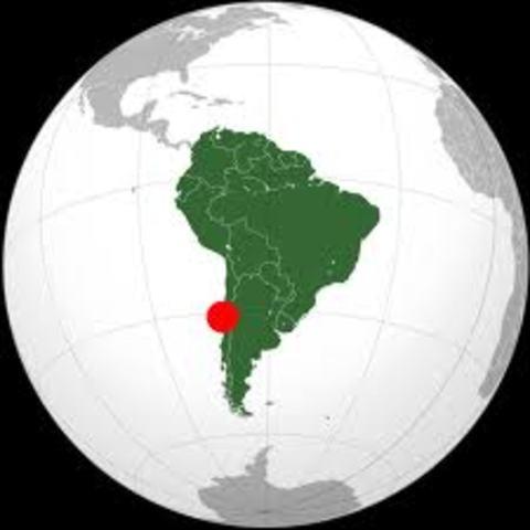 Strong Earthquake hits Chile