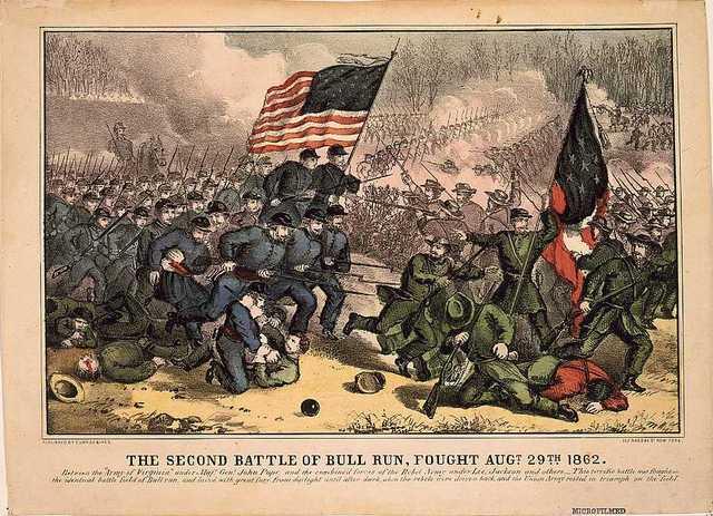 The Confederates Win the Second Battle of Bull Run.