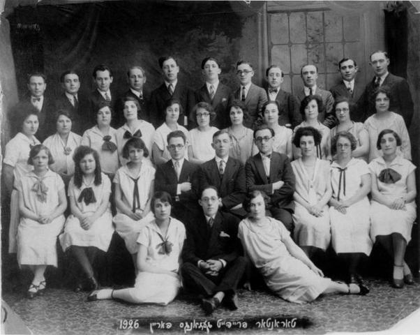 Jews expelled from choir clubs.