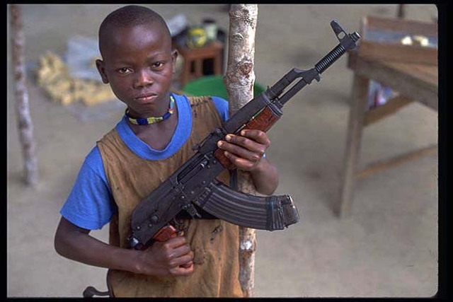 Sierra Leone and the child soldiers