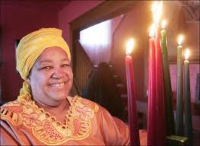 First Kwanzaa Celebrated