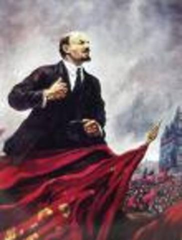 Bolshevik Revolution,Lenin becomes Dictator of Russia