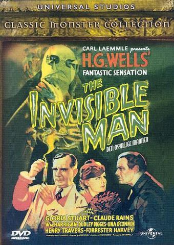 Den osynlige mannen av Herbert George Wells