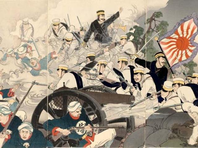 Sino Japanese War [1894-1895]