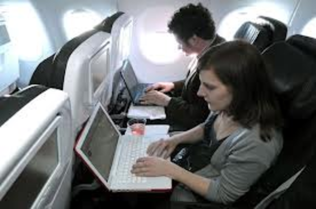 wi-fi on airplanes
