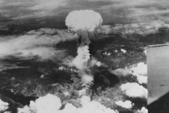 The USA dropped two atomic bombs on Hiroshima and Nagashaki