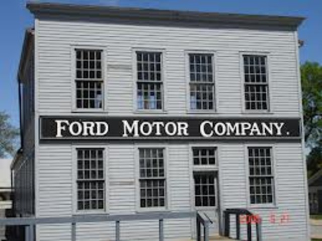 Ford Is Invented