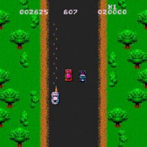 Spy Hunter - Shooting in a Driving Game