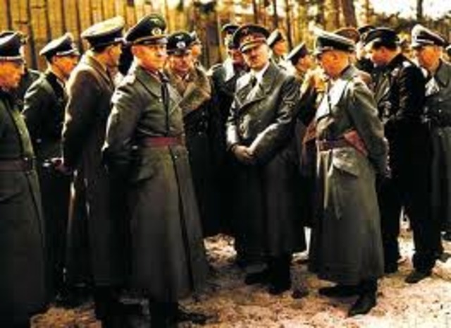 Hitler was elected, Dachau Camp opens