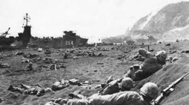 The Battle for Iwo Jima