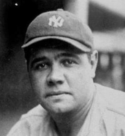 Babe Ruth's birthday 1895