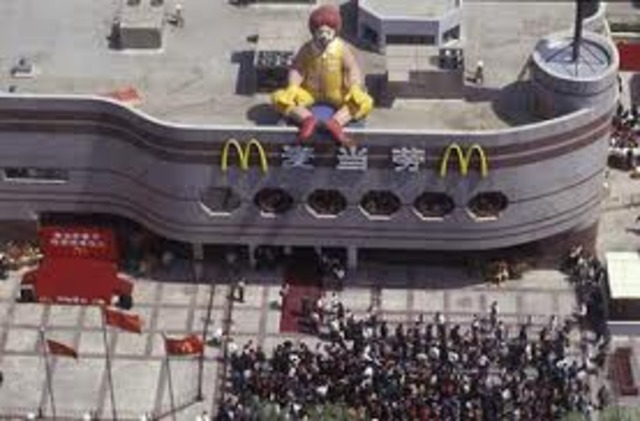 First McDonalds put in China