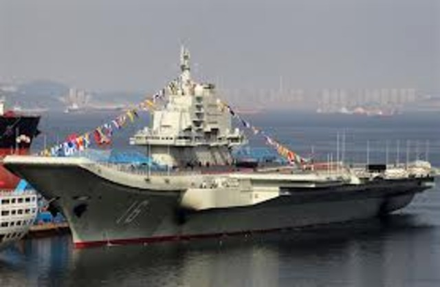 China launches first aircraft carrier
