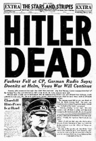 Hitler is no more