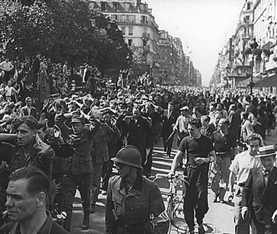 Allies liberate France and other countries