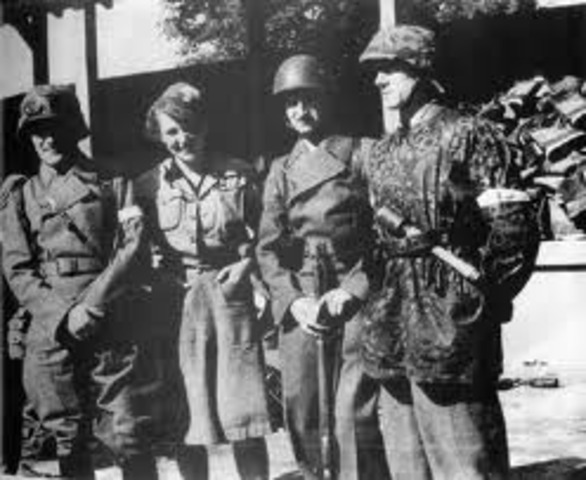 Home Army surrenders to Germany