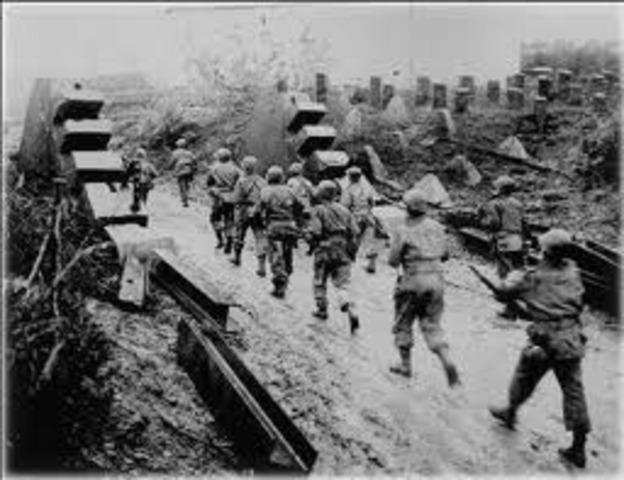 Germany starts Battle of the Bulge
