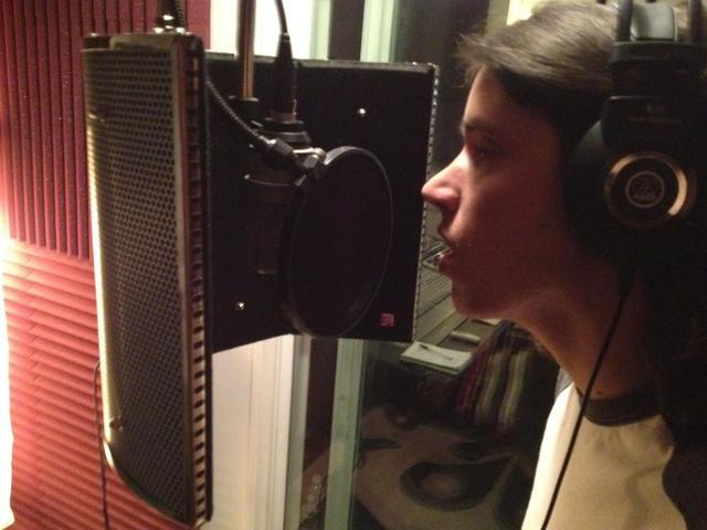 David Geftakys & David Gielan in studio
