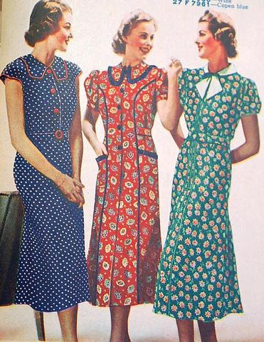 1930's fashion.