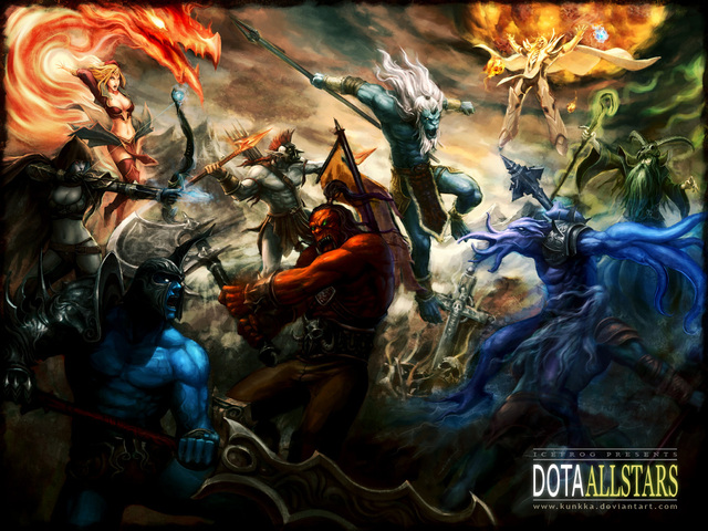 Defense of the Ancients - Massive Online Battle Arena Genre