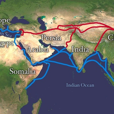 Silk and Spice Trade by Mary Canete timeline
