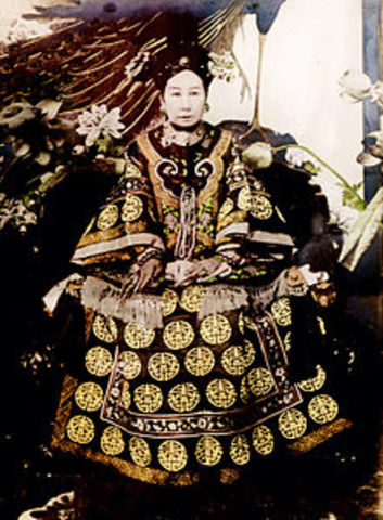 Empress Dowager Cixi's Rule Begins