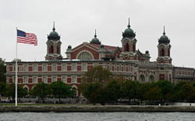 Ellis Island opened