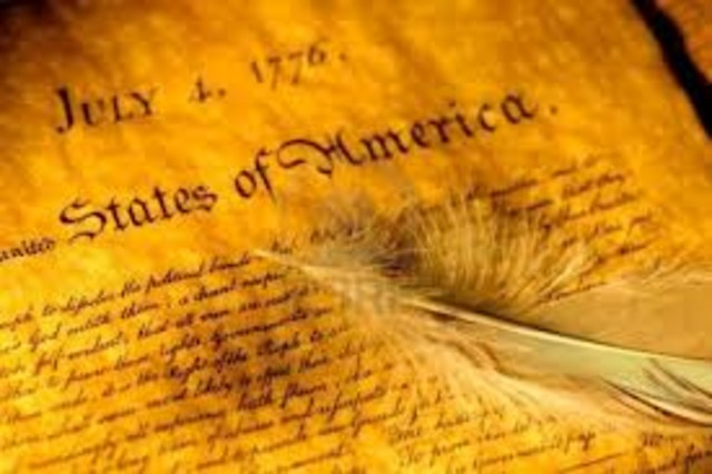 Signing of the American Declaration of Independence