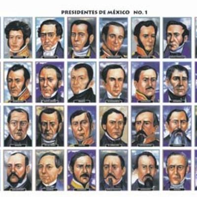 Presidentes de México (Inicio del siglo XIX hasta principios del XX) timeline