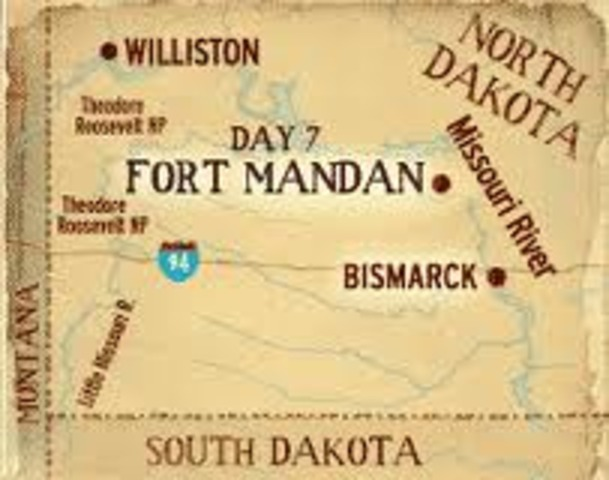 Fort Mandan completed