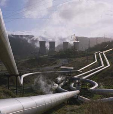 World's First Geothermal Power Plant