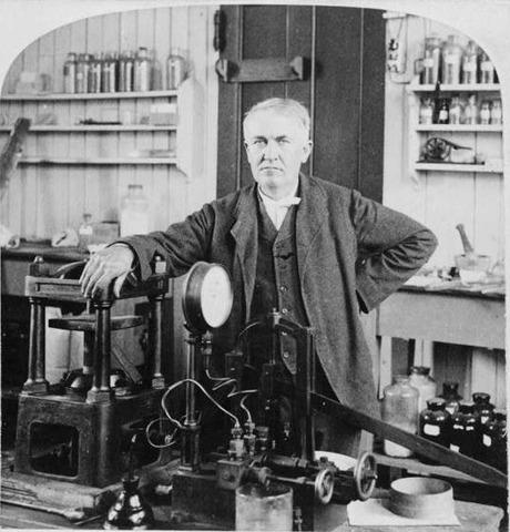 Thomas Edison starts electrical power distribution center in New York.