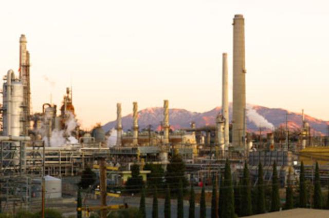First petroleum refinery.