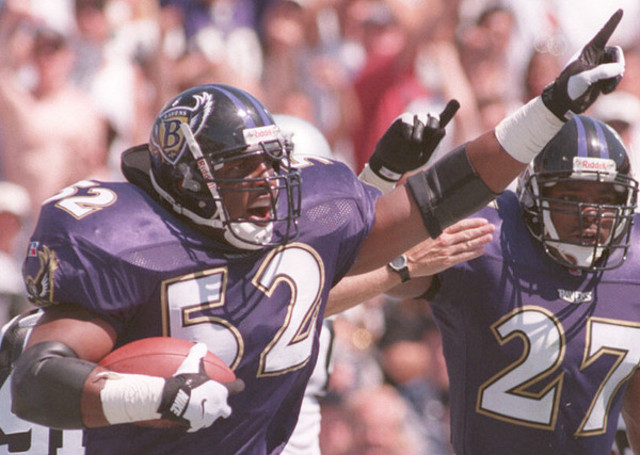 First NFL draft for the Ravens