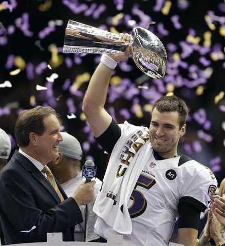 Baltimore Ravens win second Super Bowl