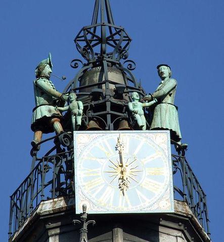 Horloge automate de Notre Dame de Dijon
