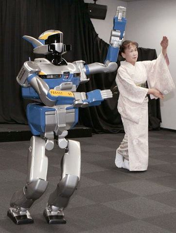 HRP-2 Robot danceur
